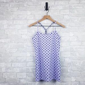 Lululemon Power Y Lavender Polka Dot Tank | Size 8